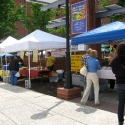 Crowds at Opening Day of Bethlehem Farmers' Market