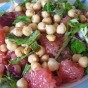 minty-green-chickpea-salad