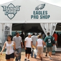The entrance of Eagles Training Camp