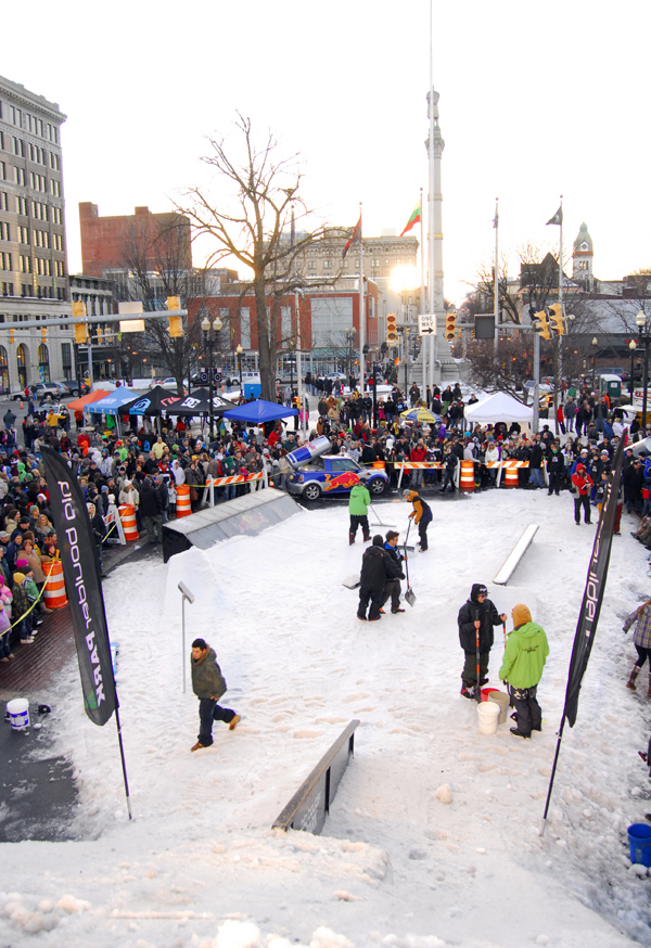 Drinky's Red Bull Rail Jam in Downtown Easton, Lehigh Valley, PA