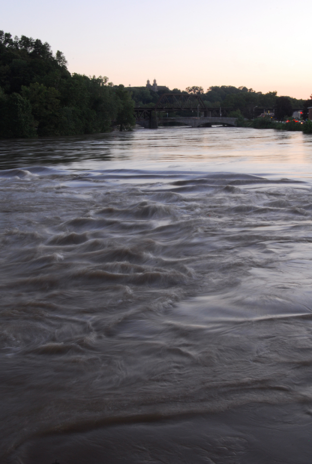 Delaware and Lehigh Rivers flood after Hurricane Irene in Easton PA | Lehigh Valley PA