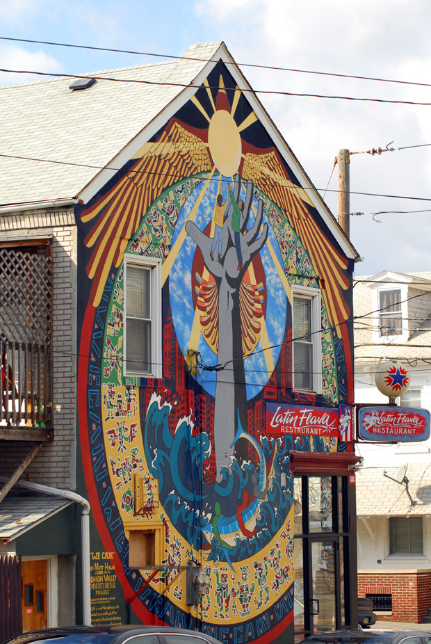 Lehigh Valley Community Mural Project, Allentown PA