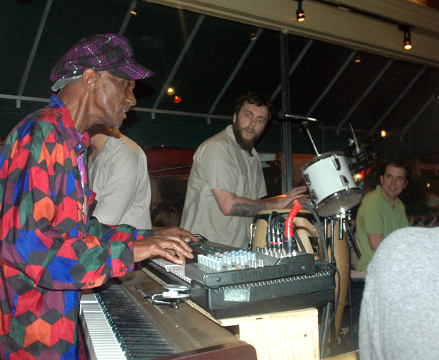 Bernie Worrell plays with Start Making Sense at Pearly Baker's in Easton PA.