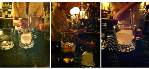 Drink preparation at the Bookstore Speakeasy in SouthSide Bethlehem, Lehigh Valley PA