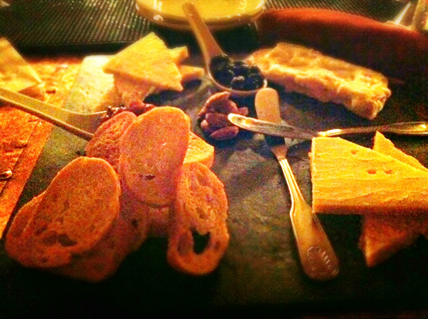 The Cheese Plate at the Bookstore Speakeasy in Southside Bethlehem, Lehigh Valley PA