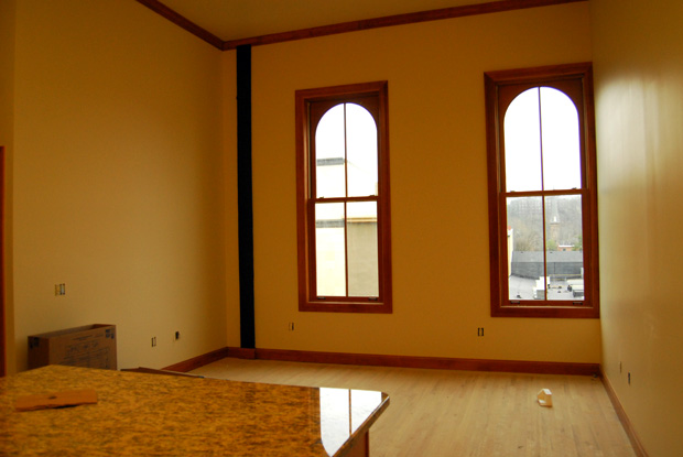 Apartment in the Pomeroy Building in Easton PA