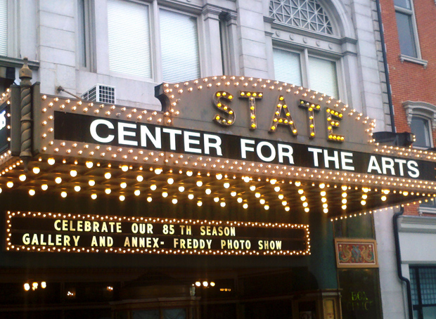 The marquis of the State Theatre for the 10th Annual FREDDY Awards. Photo by Laini Abraham.