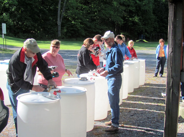 Make your own Rain barrel workshop at Weyerbacher Brewery in Easton, PA